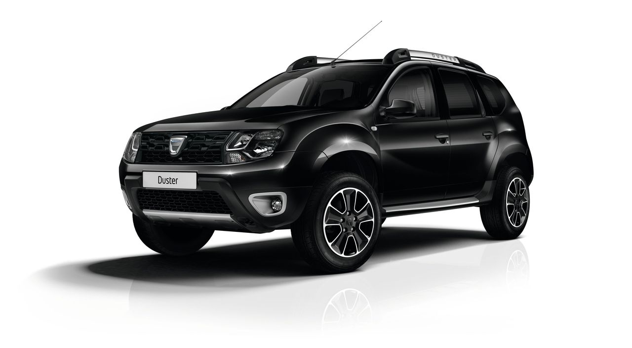 dacia duster black touch i nowa gama dustera we francji. Black Bedroom Furniture Sets. Home Design Ideas