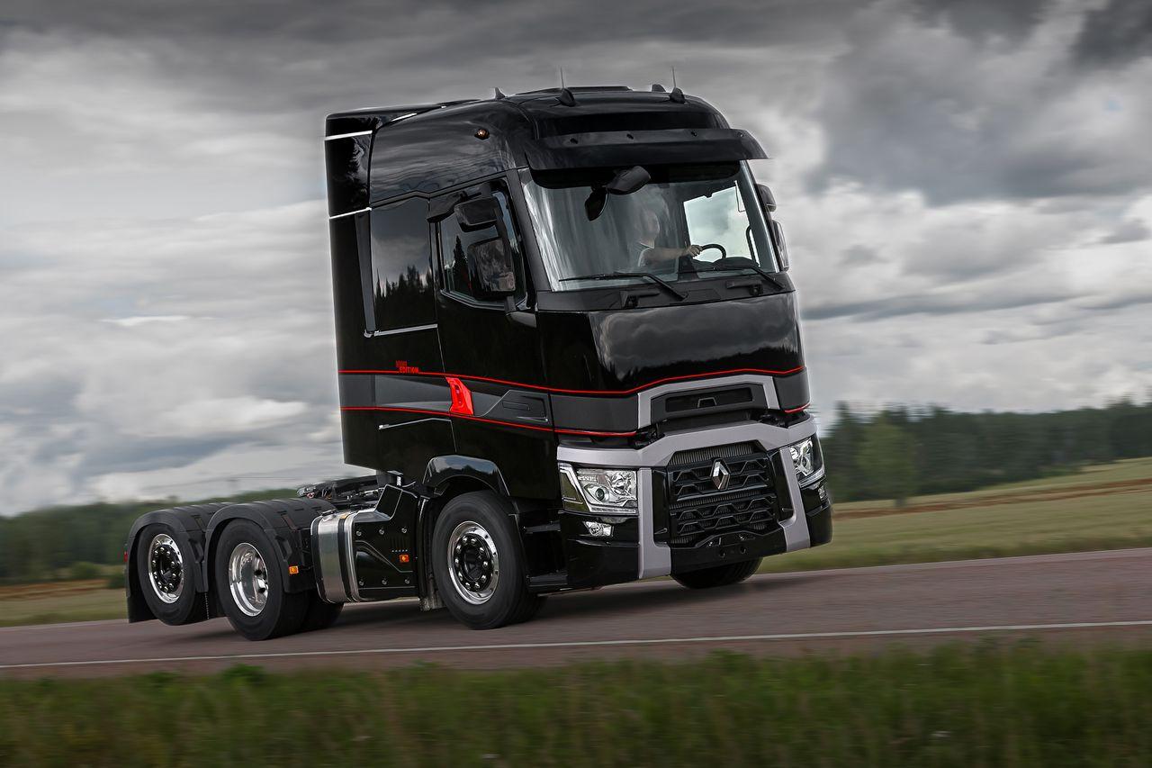 renault trucks t teraz w serii specjalnej high edition. Black Bedroom Furniture Sets. Home Design Ideas