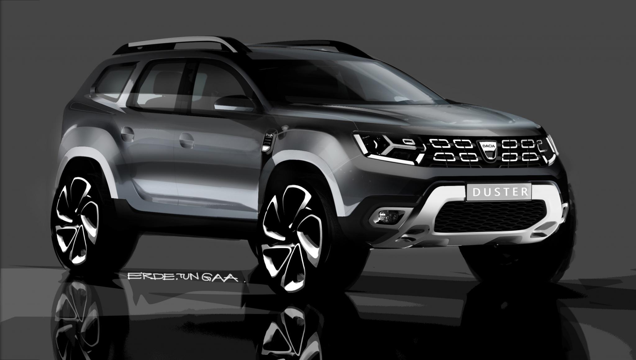 Nowa dacia duster pierwsze zdj cia modelu for Dacia duster 2017 interni