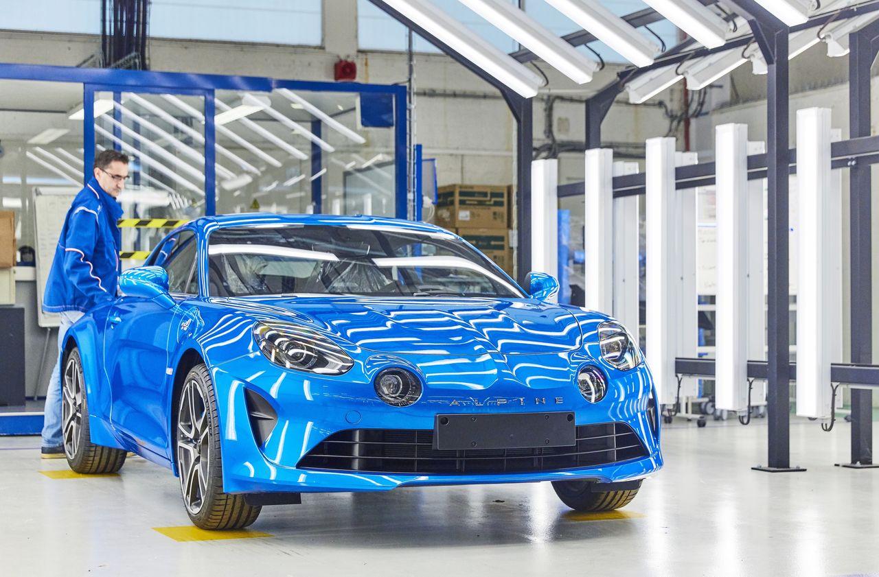 Alpine A110 - zwiększenie produkcji