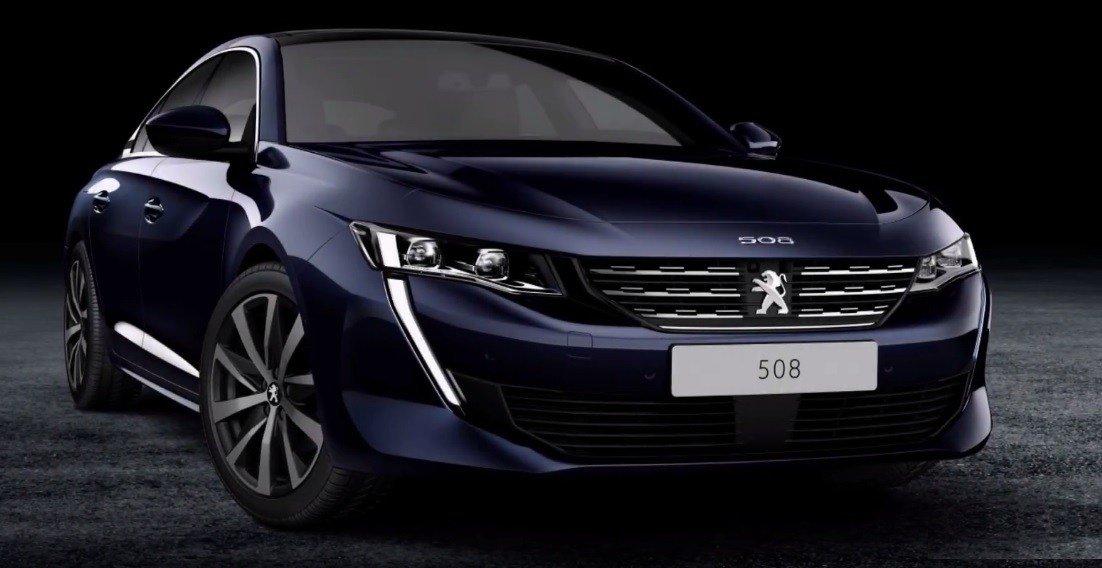 Nowy Peugeot 508 Oficjalne Zdjęcia Wyciekły Do Sieci