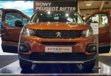 Peugeot Rifter na Poznań Motor Show