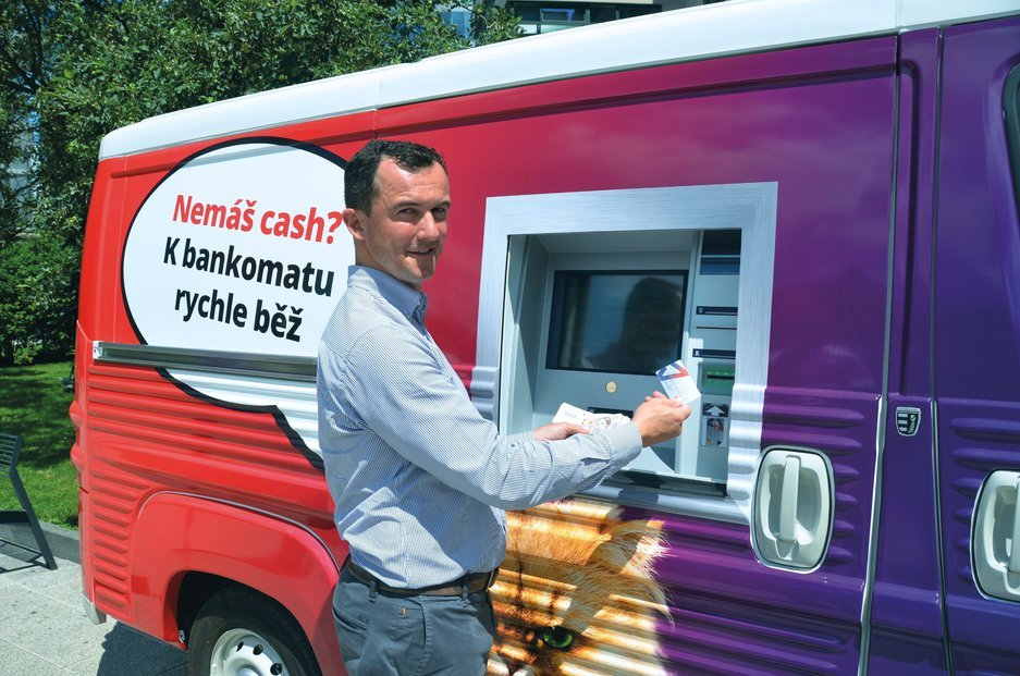 Citroen Type H - mobilny bankomat