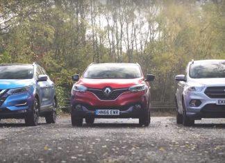 Nissan Qashqai, Renault Kadjar, Ford Kuga - porównani