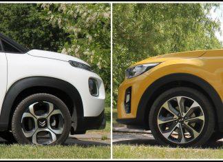 Citroen C3 Aircross vs Kia Stonic: porównanie