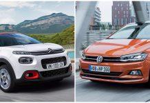 Volkswagen Polo kontra Citroen C3